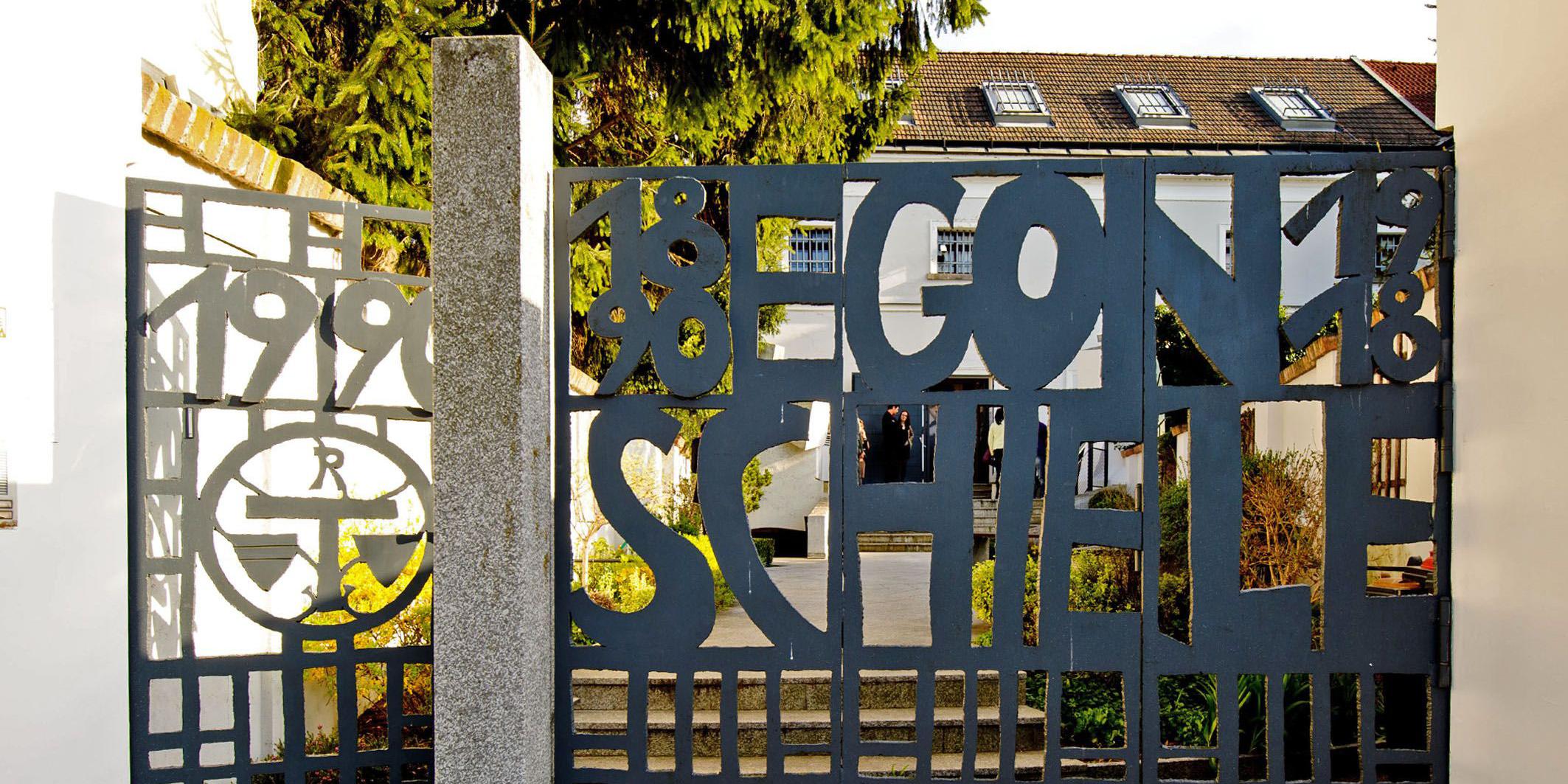 Einganstor Schiele Museum